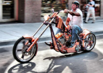 Copper Colored Chopper