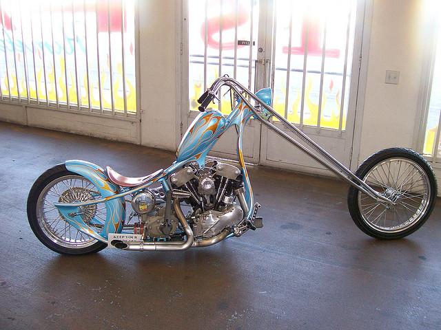 Sweet California Motorcycle