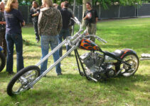 Harley Davidson on Grass