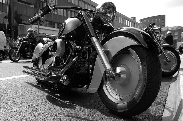 Heavy Duty Black and White