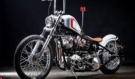 Classic Silver Chopper