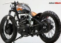 Triumph Bobber Magic