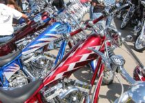 Cool Choppers Lined Up