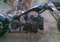 Bike Metric Black Chopper