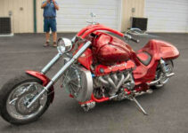 Smokin Red Viper Chopper