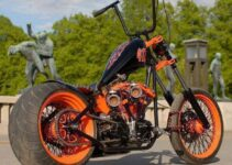 Totally Mind Blowing Custom Chopper