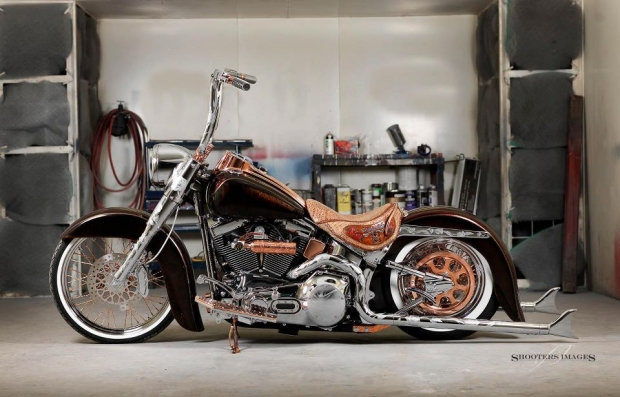Copper Stunner Chopper