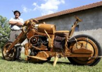 A Man Builds Dream Chopper