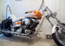 Custom Harley Davidson Chopper