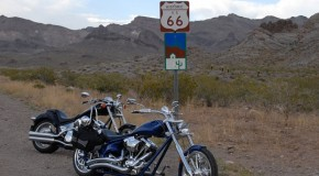 Dual Chopper in the Valley of Fire