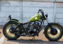 Custom Yamaha Metric Bobber Motorcycle
