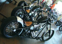 West Coast  Choppers Shining