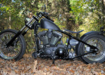 Gun Metal Black Forest Chopper
