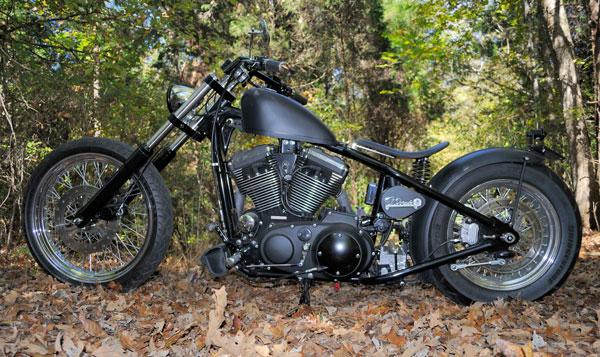 Gun Metal Black Forest Chopper