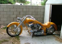 Custom Built Harley Davidson Chopper