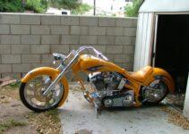 Custom Built Harley Davidson Chopper