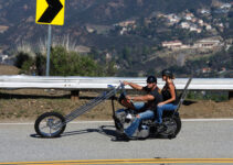 Custom Chopper Rolling