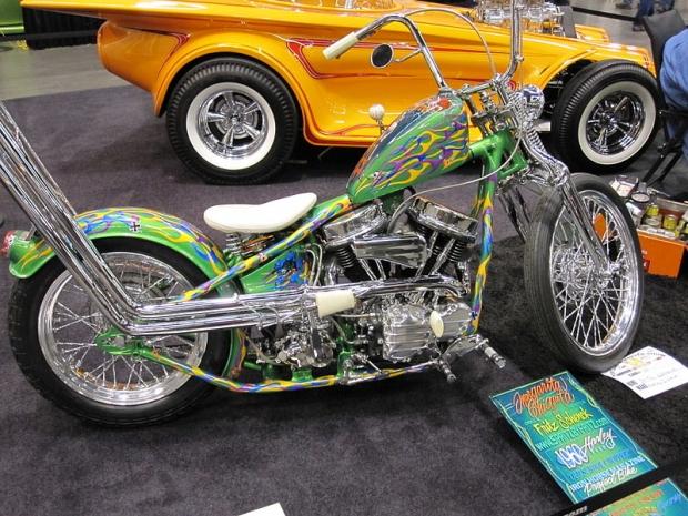 Portland Roadster Show Chopper