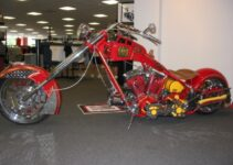 Orange County Choppers Fire Bike