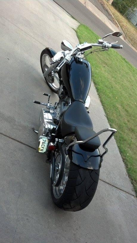Jimmy's Slick Black Chopper