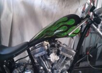 Jai's Green Big Bear Chopper