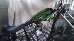 Jai's Green Big Bear Chopper