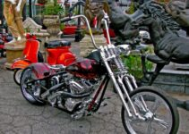 Red Rad Custom Chopper
