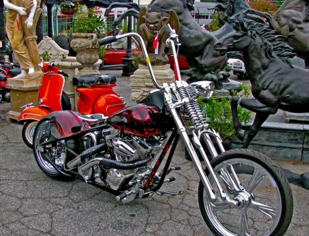 Red Rad Custom Chopper
