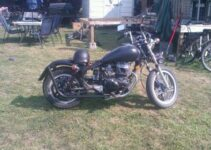 Gary's Black Custom Bobber