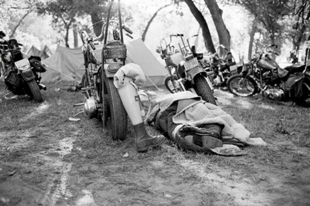 Hard Core Chopper Riders Camping