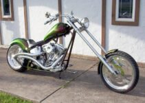 Green and Lean Custom Chopper