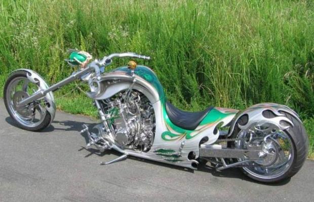 Brilliant Green Chopper