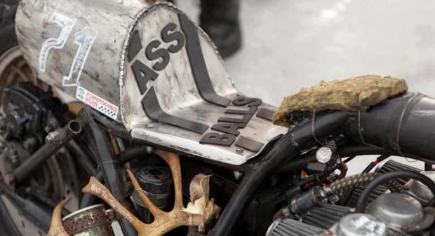 Chopper Motorcycle Seat Map