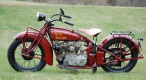 Old Classic War Injun Motorcycle