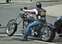 Riding A Harley Davidson