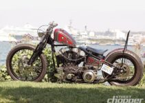 1969 Shovelhead Motorcycle