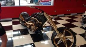 Gold Plated Aussie Chopper