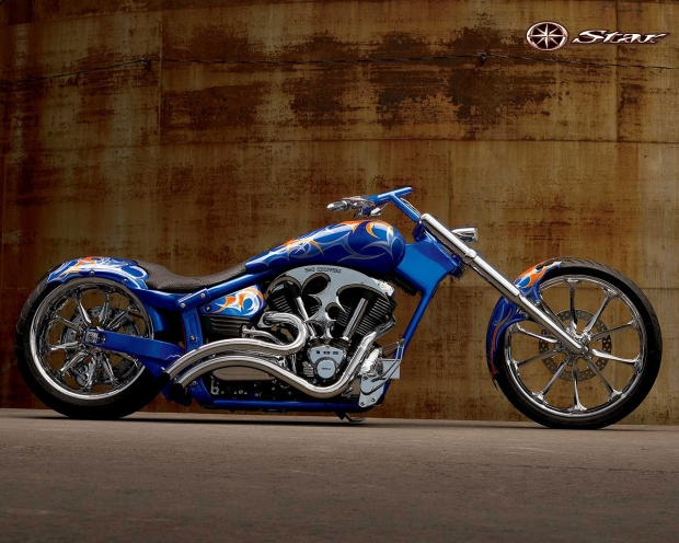 Sweet Yamaha Star Chopper
