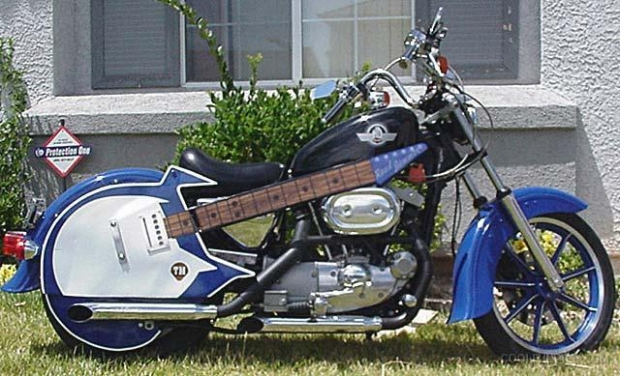 Guitar Motorcycle