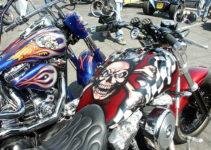 Bold Harley Tank Paint