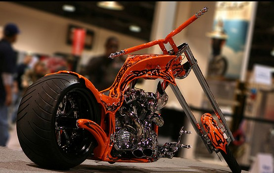 Long Beach Chopper Motorcycle