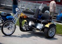 Flaming Trike Chopper