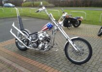 A Fan's Captain America Chopper