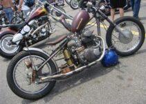 Vintage Honda CB350 Chopper