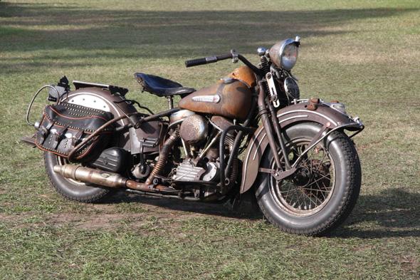 Vintage Harley Motorcycles