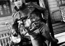 Marlon Brando and his Motorcycle