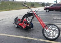 Black and Red Death Chopper