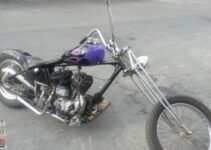1962 Harley Davidson Flat Head Custom Chopper
