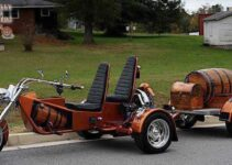 Wine Barrel Trike