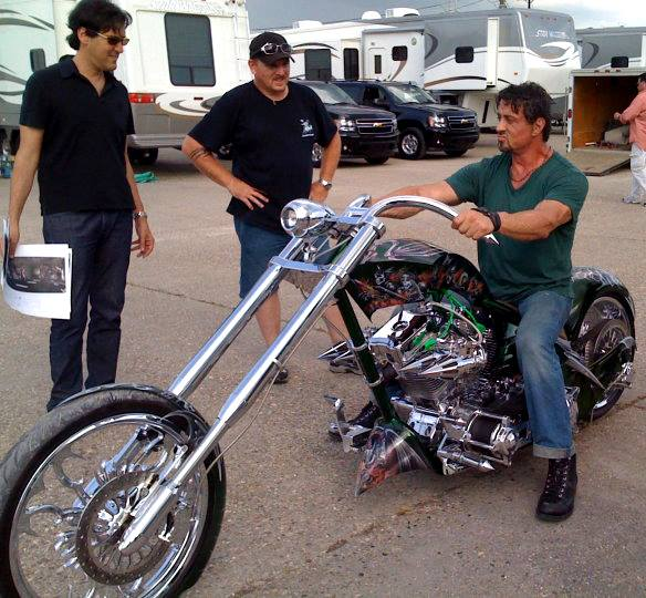 Sly's Chopper Motorcycle